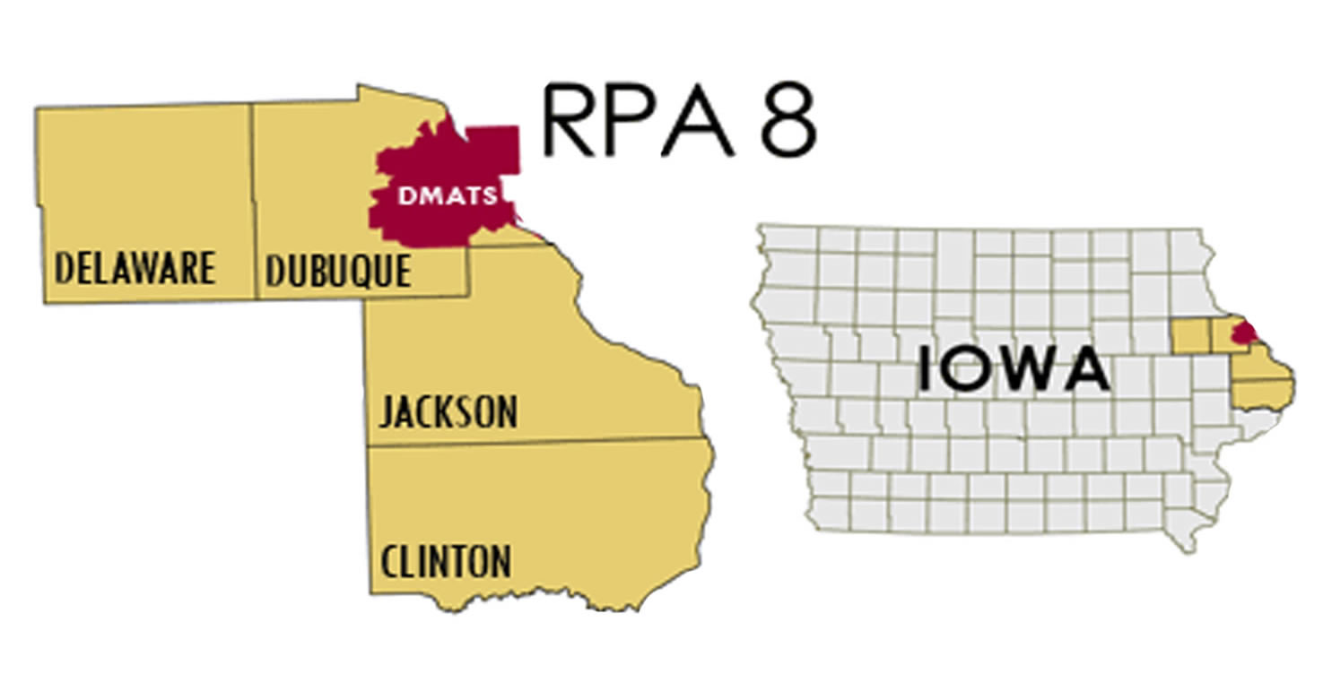 RPA8 Map